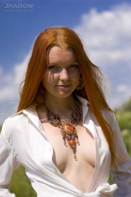 Голая красивая рыжая девочка фото фото 146-637