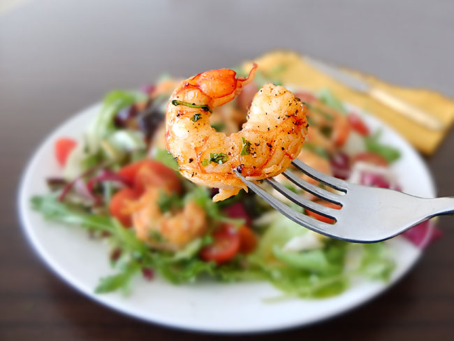 langostinos salat