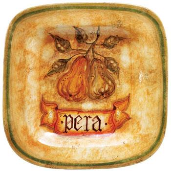 Botanica Pear Wall Plate