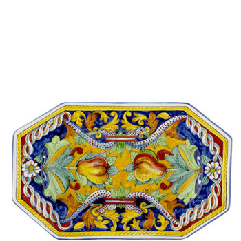 Toscana Octagonal Pear Wall Plate