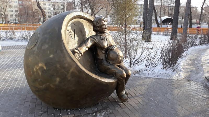 Памятник В. Терешковой