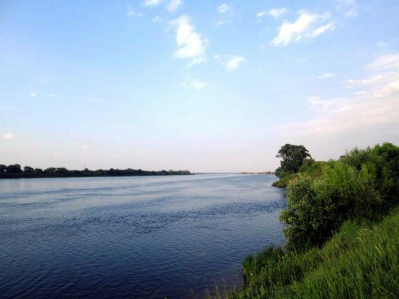 Ока, граница Рязанской и Московской областей