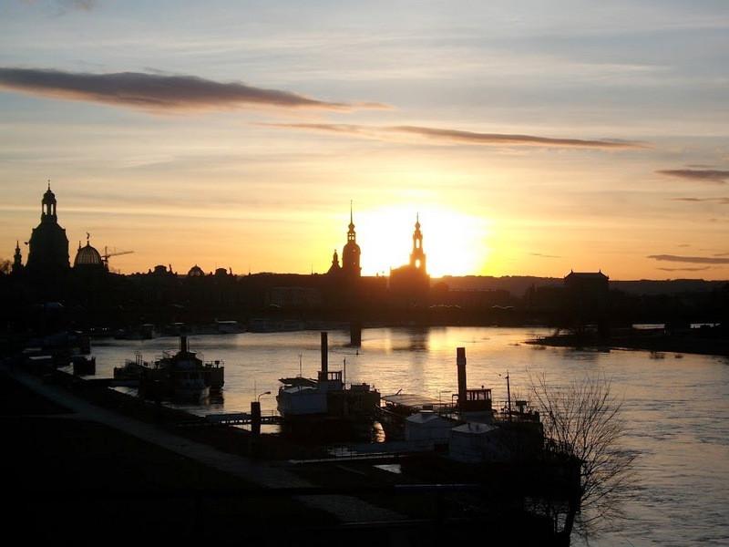 Дрезден, река Эльба