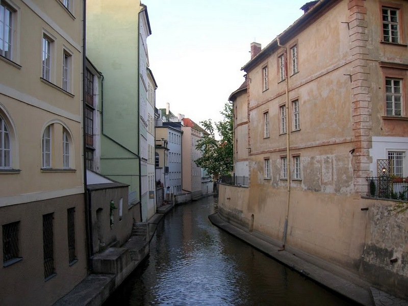 Прага, Чертовка