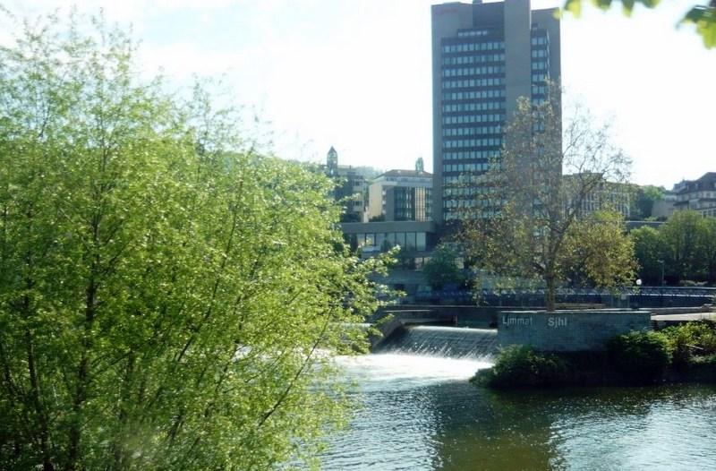 Цюрих, река Лиммат