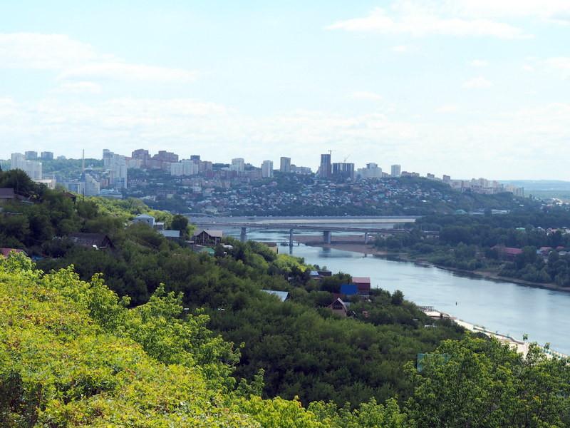 Уфа, река Белая