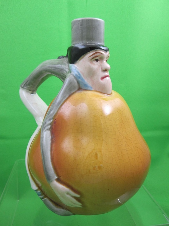 Man with a pear