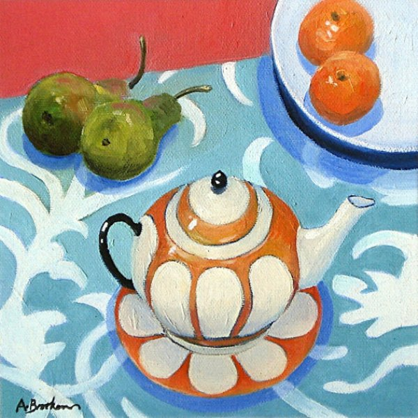 Angela Brookens The Orange Teapot
