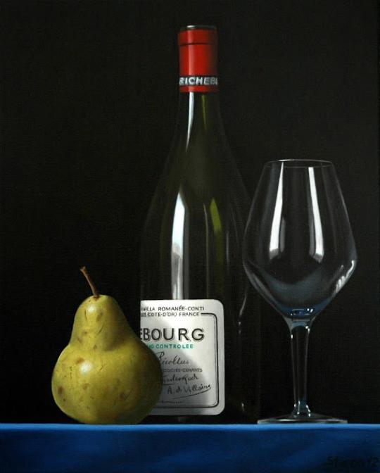 Erling Steen. Richebourg bottle