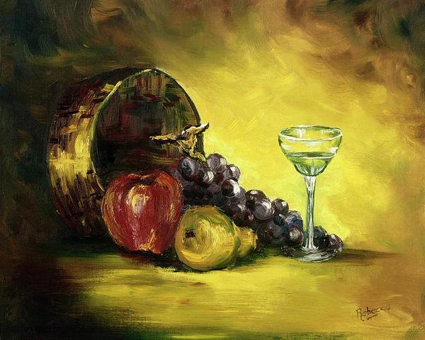 Rebecca Kimbel. The wine glass