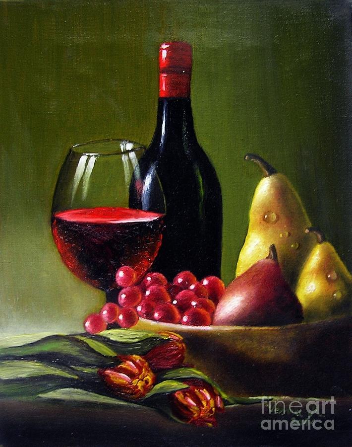 Vesna Martinjak. Red wine