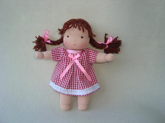 Как сшить маленькую куклу своими руками - МАРЛИН