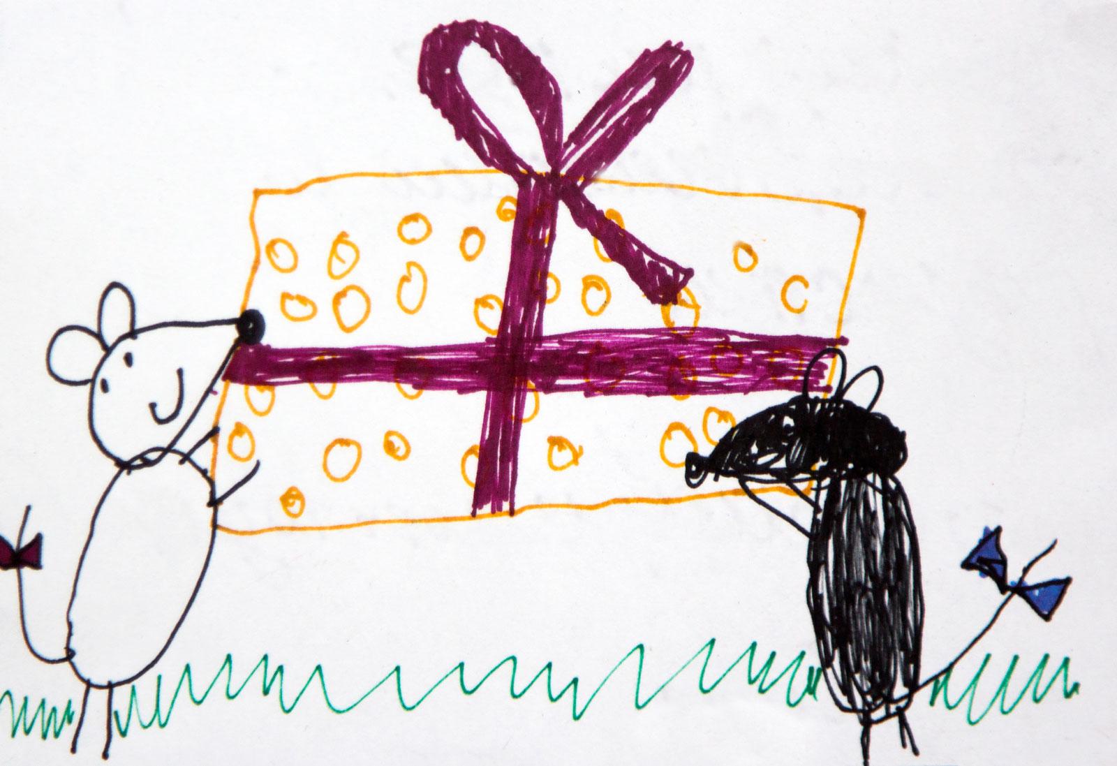 Рисунок на день рождения маме от дочки 10 лет