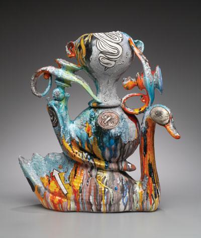 Провокационная керамика Патти Warashina. lucero-nice_nester