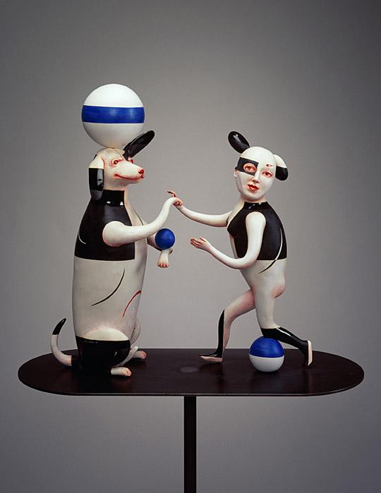 Провокационная керамика Патти Warashina. Play Pals