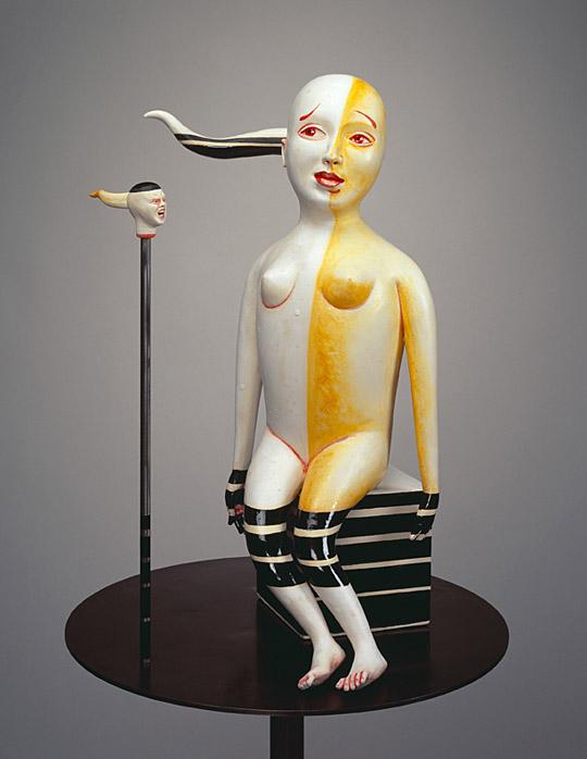 Провокационная керамика Патти Warashina. Warashina_Patti-Back_Talk