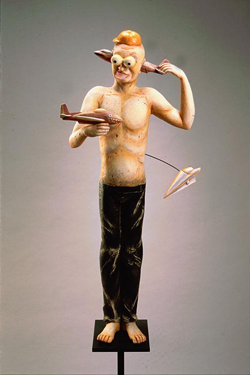 Провокационная керамика Патти Warashina. Warashina_Patti-Blow_Back