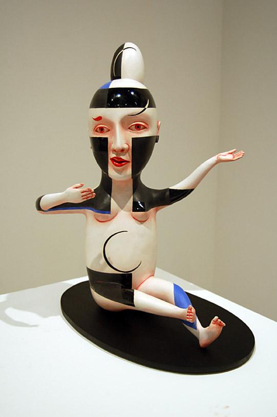 Провокационная керамика Патти Warashina. Warashina_Patti-Figure_D