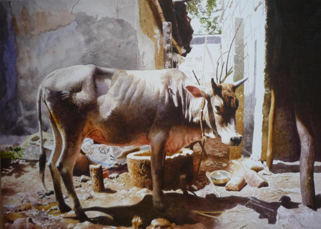 watercolor-cow-painting