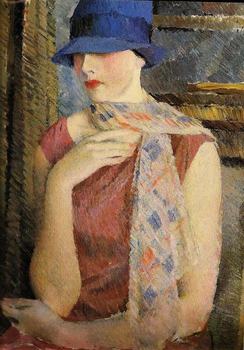 Мой любимый Лебедев. 97929187_large_Portret_NSNadezhdinoy_1927