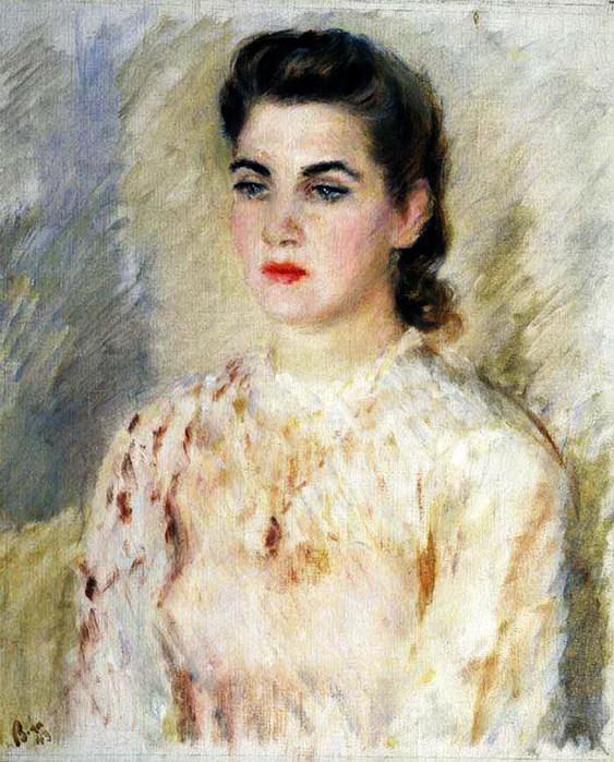 Портрет Т.Макаровой 1943