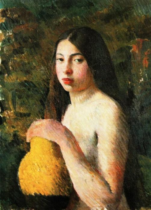 Мой любимый Лебедев. 97927362_large_Devushka_s_kuvshinom_1928