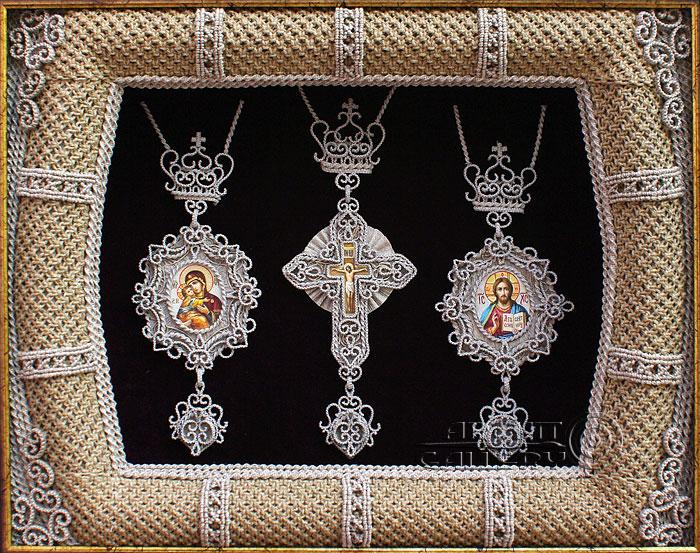 Комплект – панагии и крест
