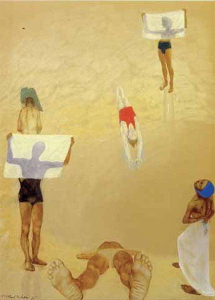 Купальщики. 1935