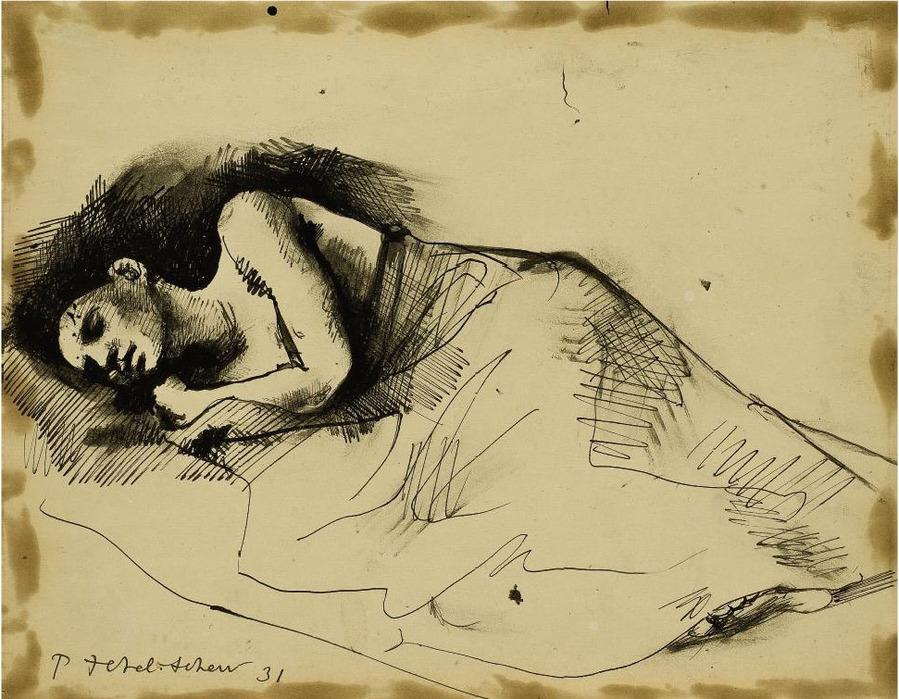 Спящая женщина, 1931