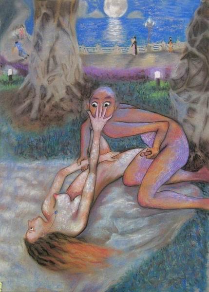 Современная эротическая живопись фото 189-656