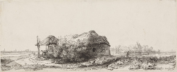 Landscape with a Cottage and Haybarn, 1641 год