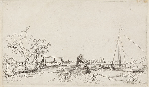 Six's Bridge, 1645 год