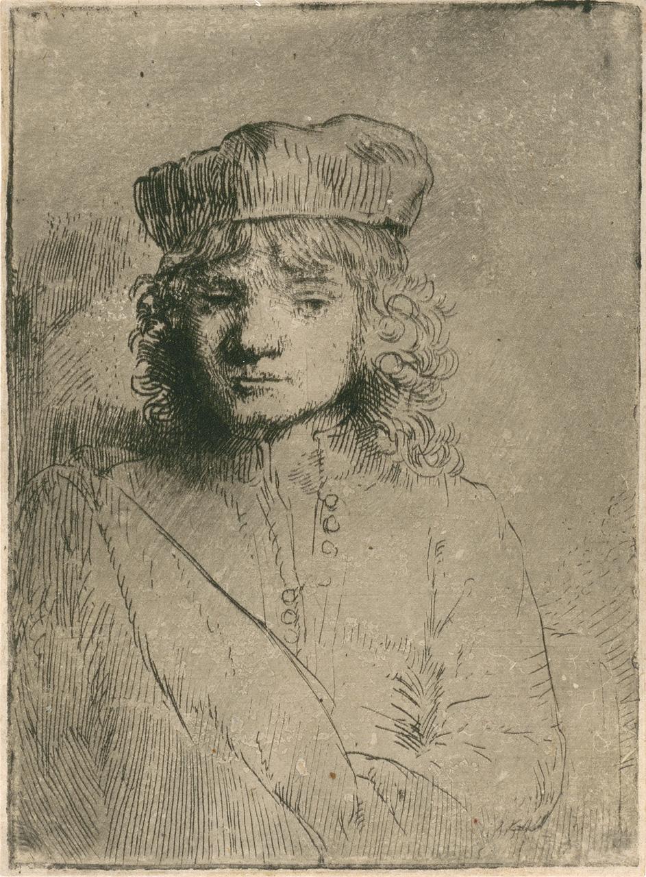 Портрет сына художника.