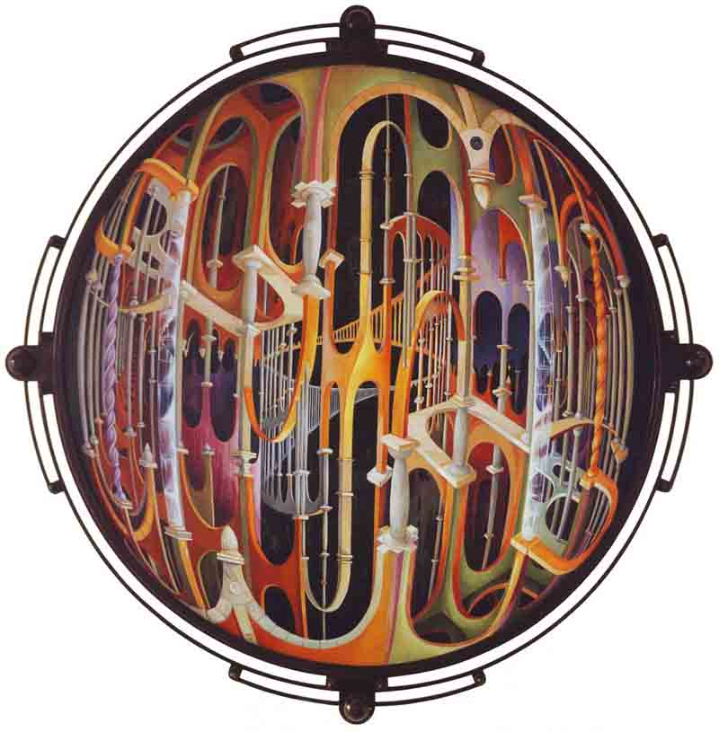 Davide Тонато, Labirinto делле Trasformazioni, 1988