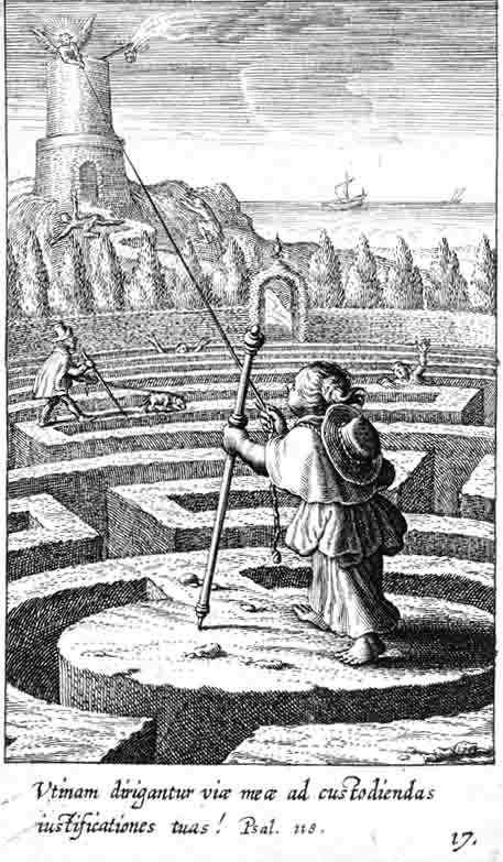 Боэций облагаться налогом Bolswart фон (1580-1634) в Пиа Desideria Герман Гюго (1624)