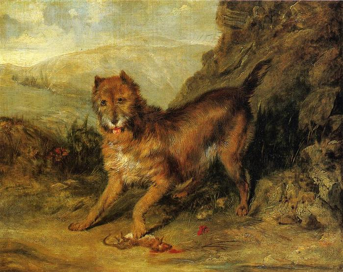 33241520_Sir_Edwin_Landseer__Bob_a_Favorite_Terrier_of_Mr