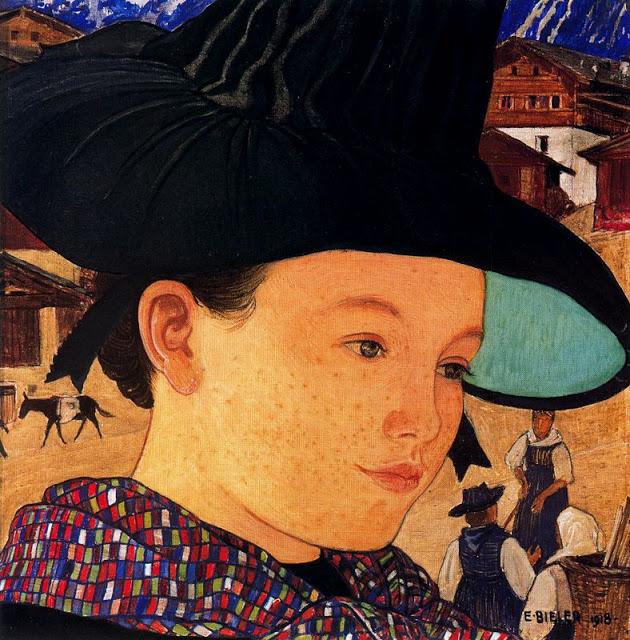 Jeune Fille aun chapeau 918