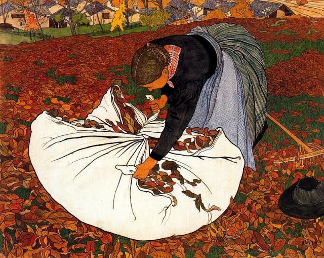 La Ramasseuse de feuilles mortes 909