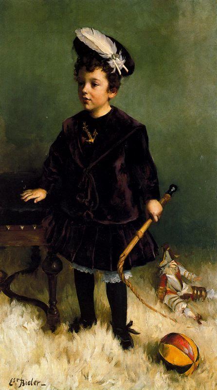 Le Petit Garçon au fouet (Enfant Decollogny)-1882