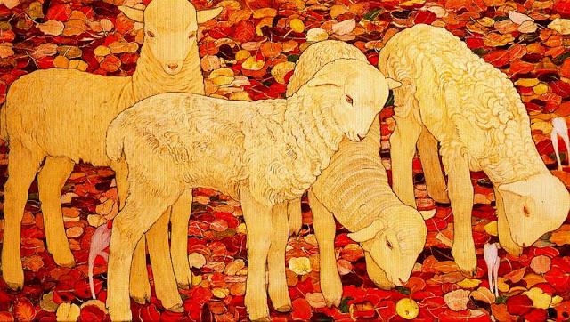 Les Moutons à Montorge 913
