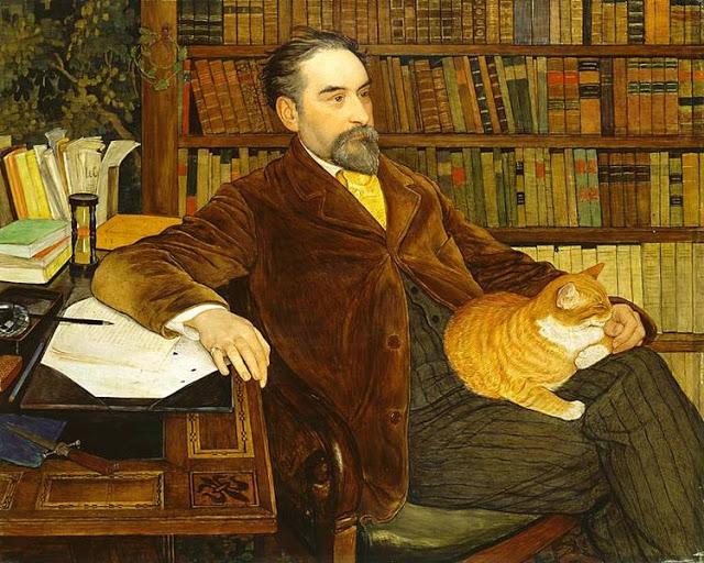 Portrait d'Edouard Rod, 1909,