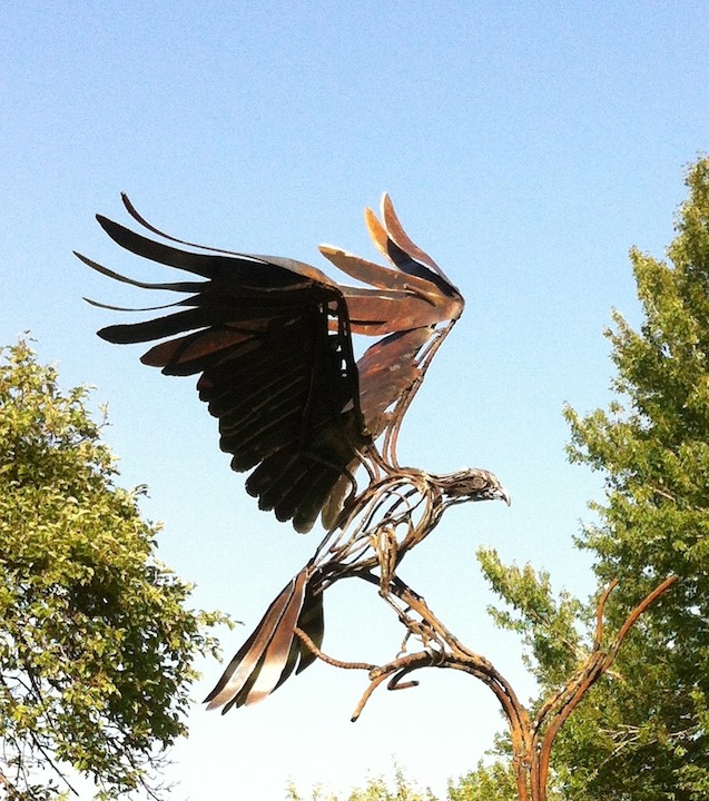 652_Osprey_Sculpture
