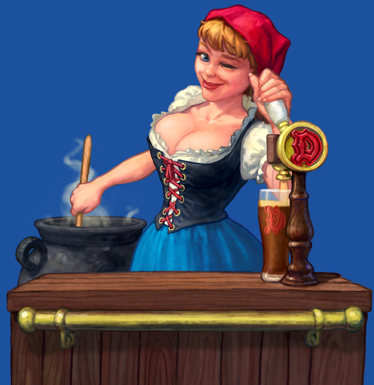 barmaid