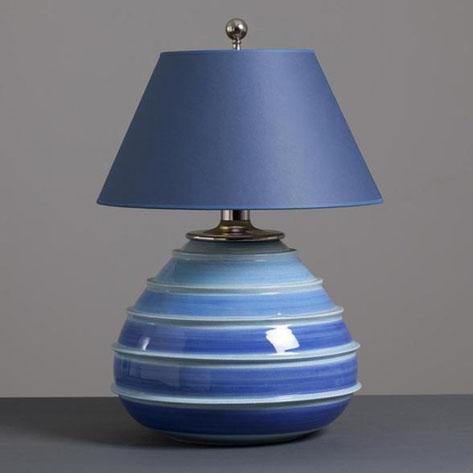 Итальянская  керамическая лампа 1960-х годов
