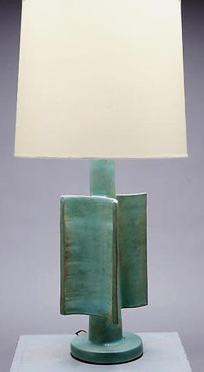 Сюзанна Рами глазурованные керамические лампы