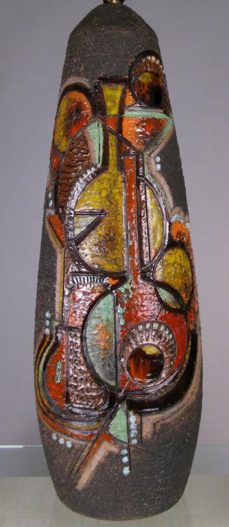 Шведский керамическая застекленные лампы