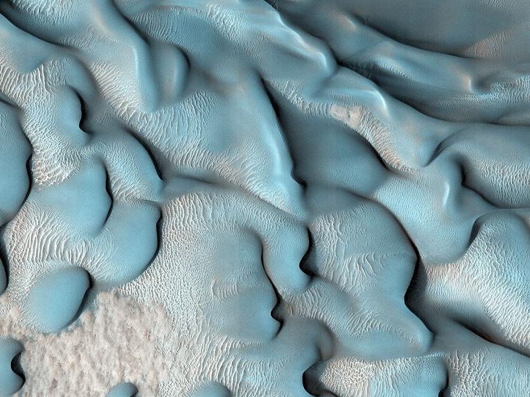 Движущиеся дюны.