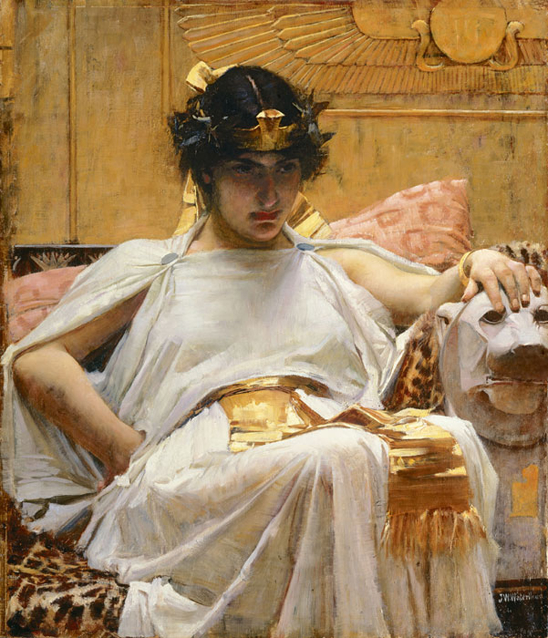 -Cleopatra_-_John_William