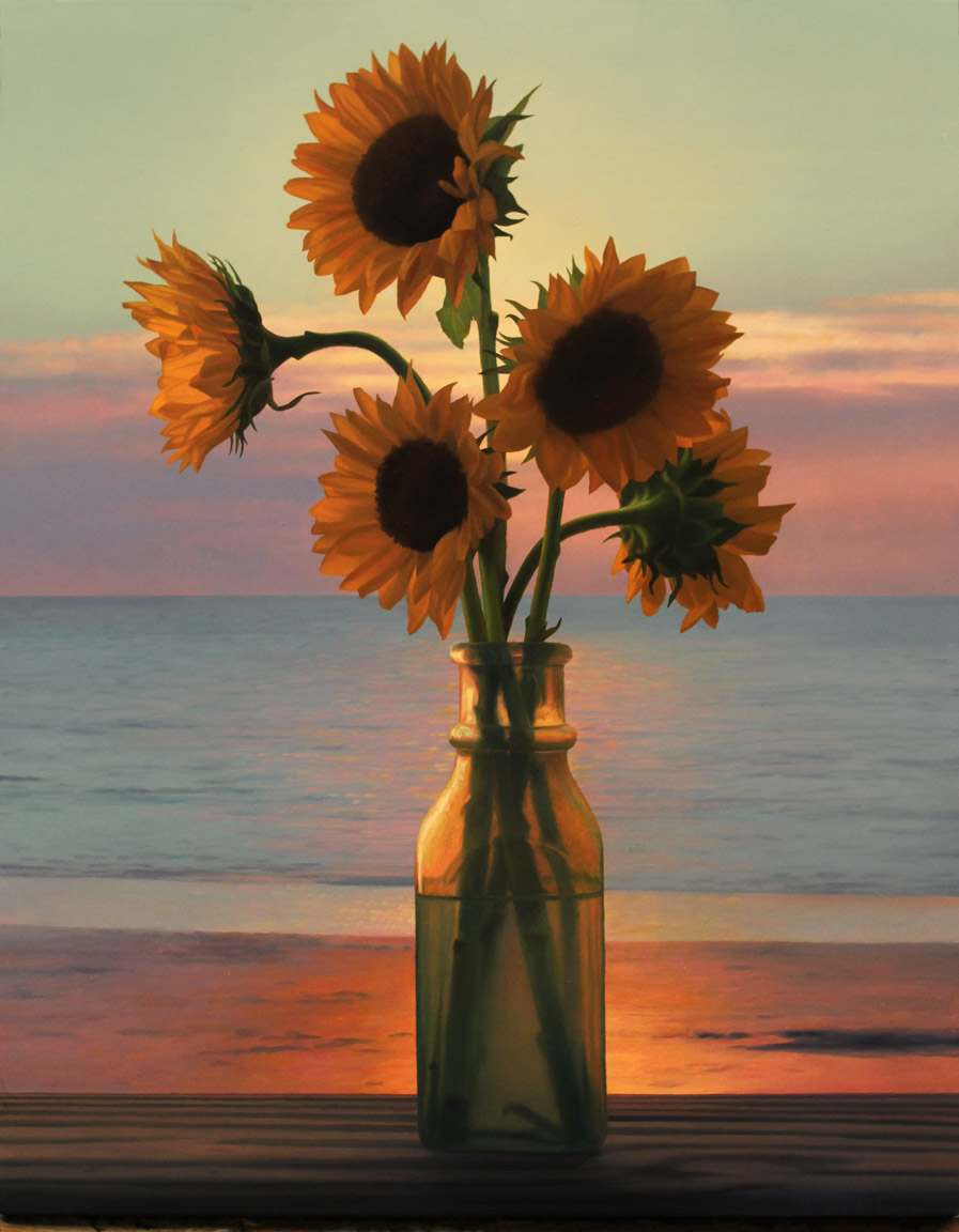 sunflowers-at-sunrise