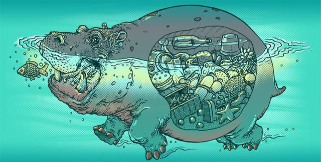 Голодный Голодный Hippo